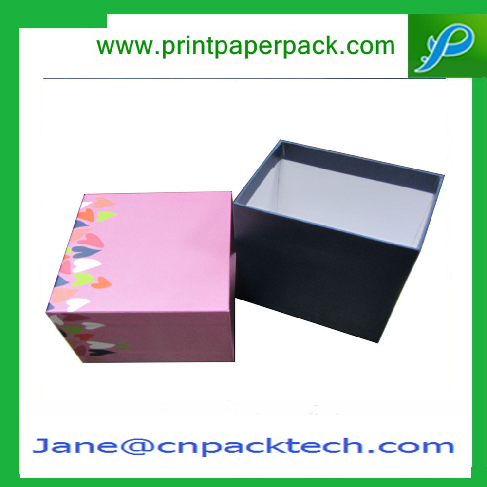 Customized Top and Bottom Box Rigid Cardboard Packaging Paper Gift Box