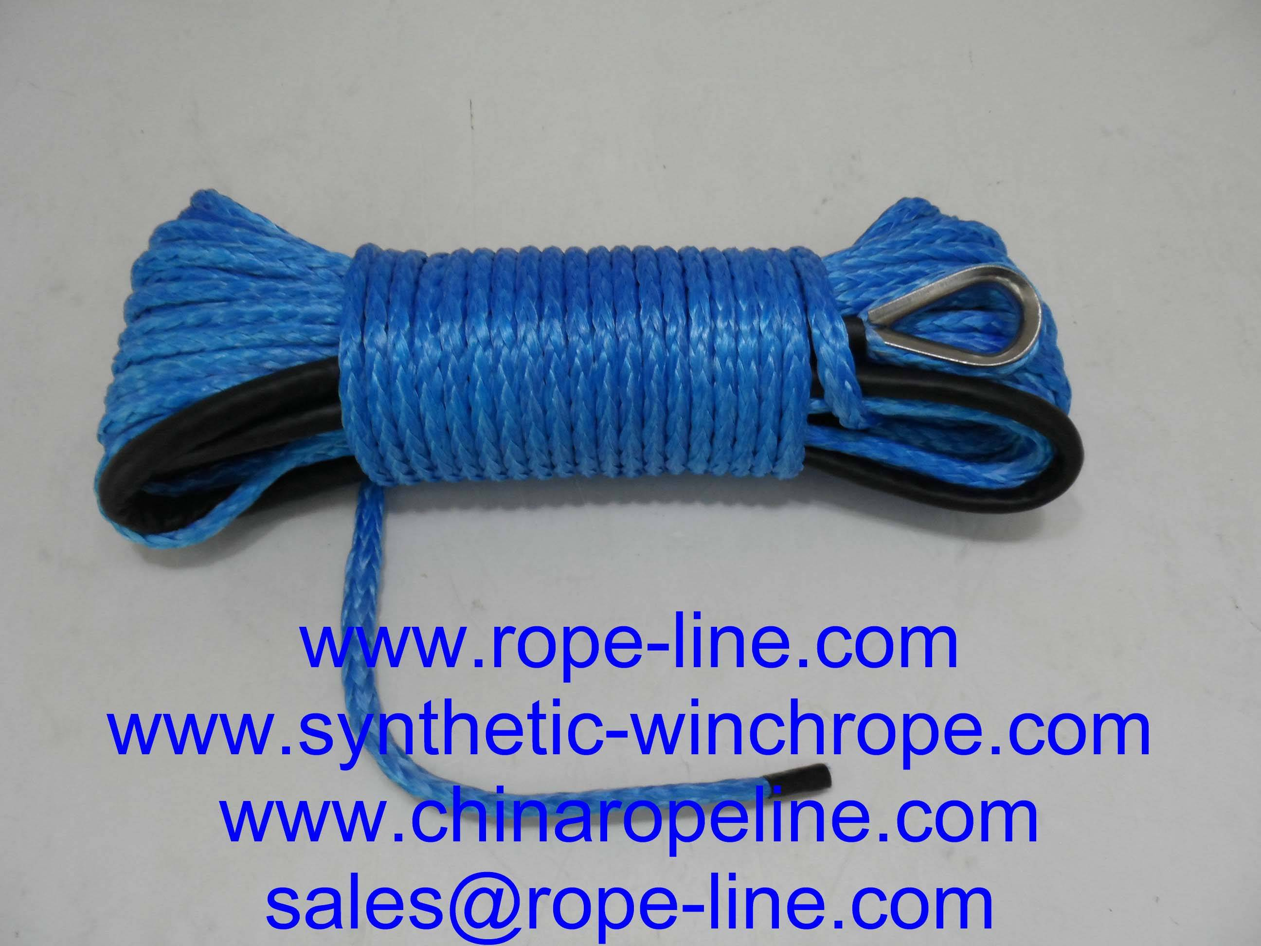 synthetic winch rope for ATV