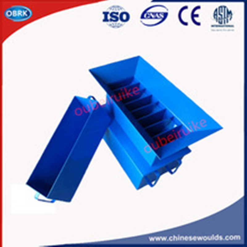 Steel 3 nos. Receiving container Soil Riffle Sample Divider