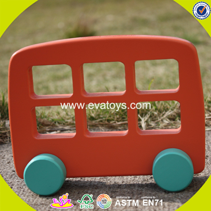 2017 wholesale fashion kids miniature wooden car W04A259