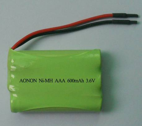 3.6V cordless phone battery