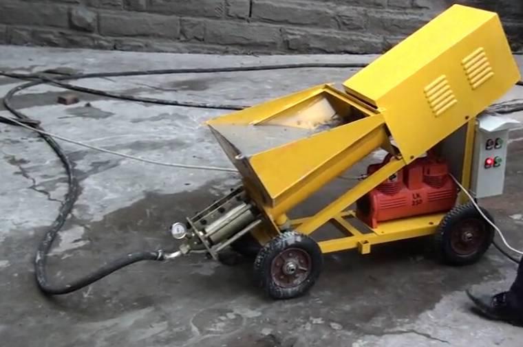 2015 Wall Plastering Machine Wall Plaster Machine