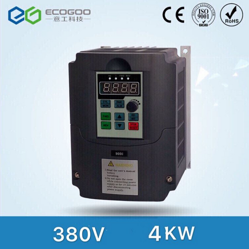 4kw 380v AC Frequency Inverter & Converter Output 3 Phase 650HZ ac motor water pump controller /ac d