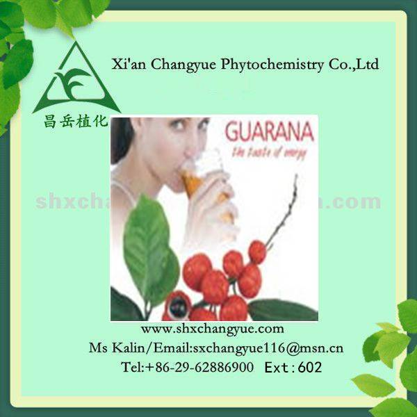 100% Natural Guarana Extract