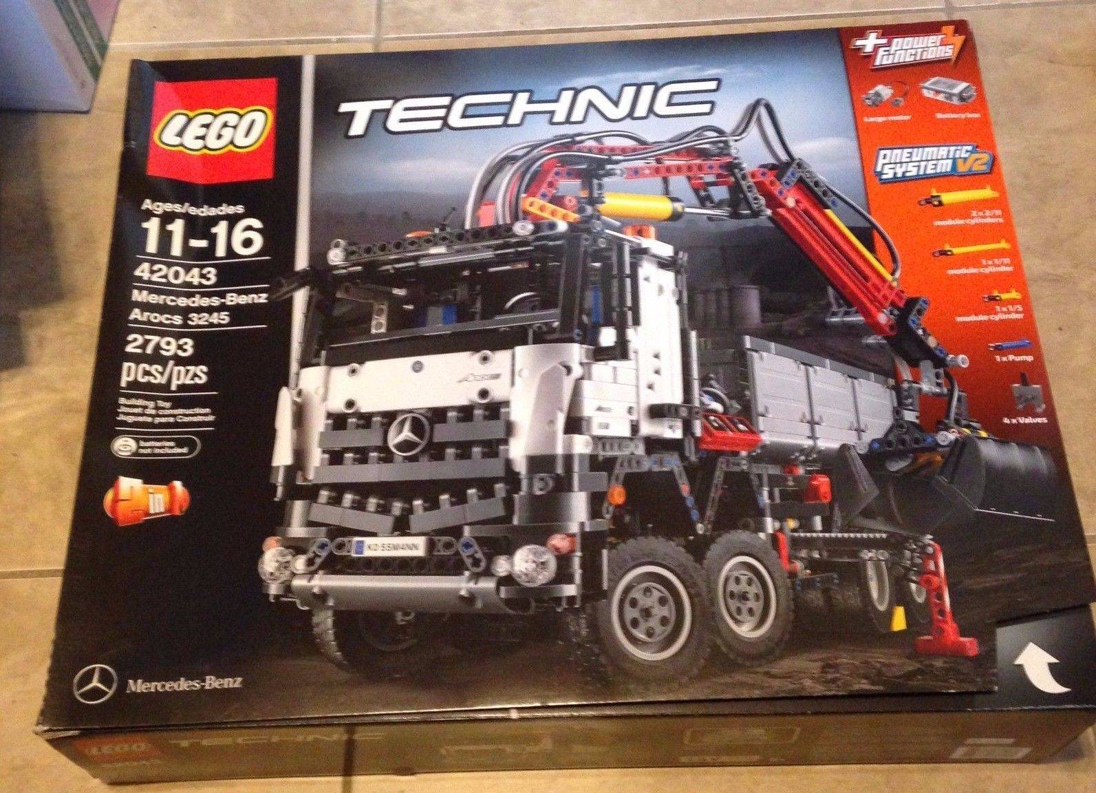Lego 42043 Technic Mercedes-Benz Arocs 3245 Set