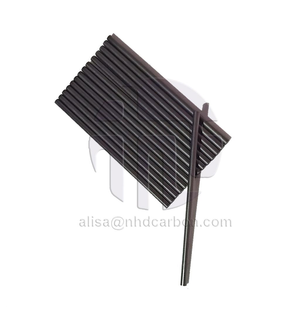 High pure graphite rod