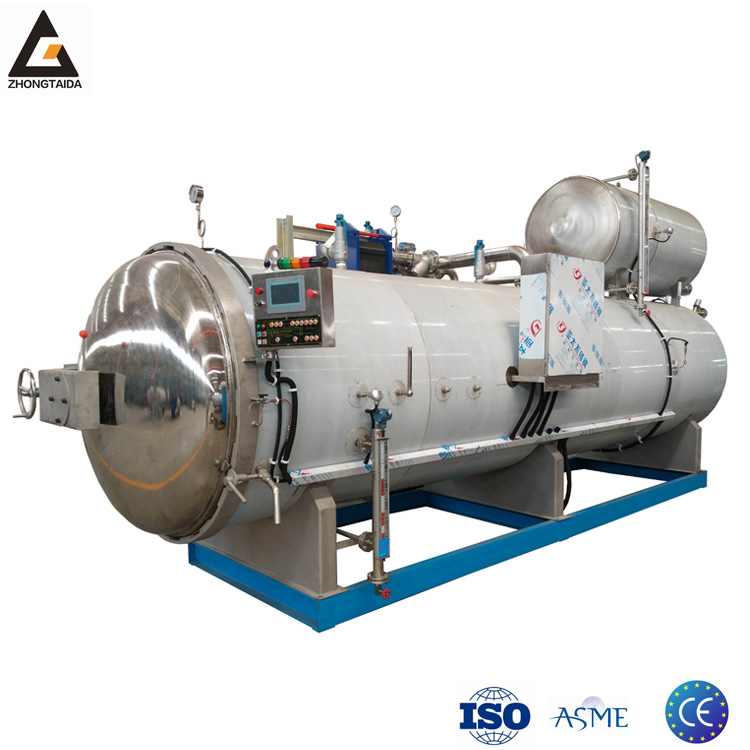 Computer full automaticwater spray type high temperature and pressure adjusting autoclave