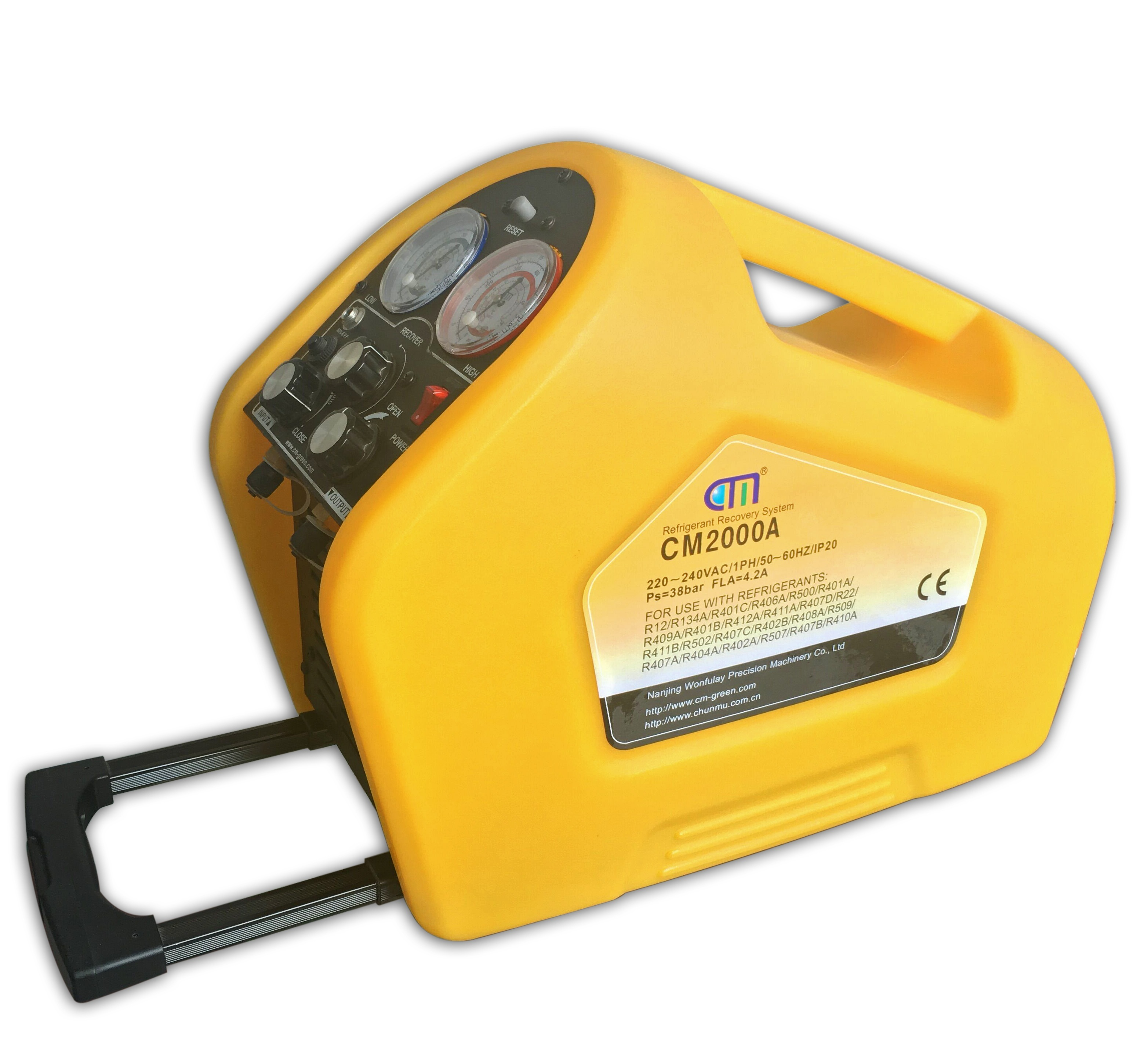 Hot Sale CM2000A Refrigerant recovery machine