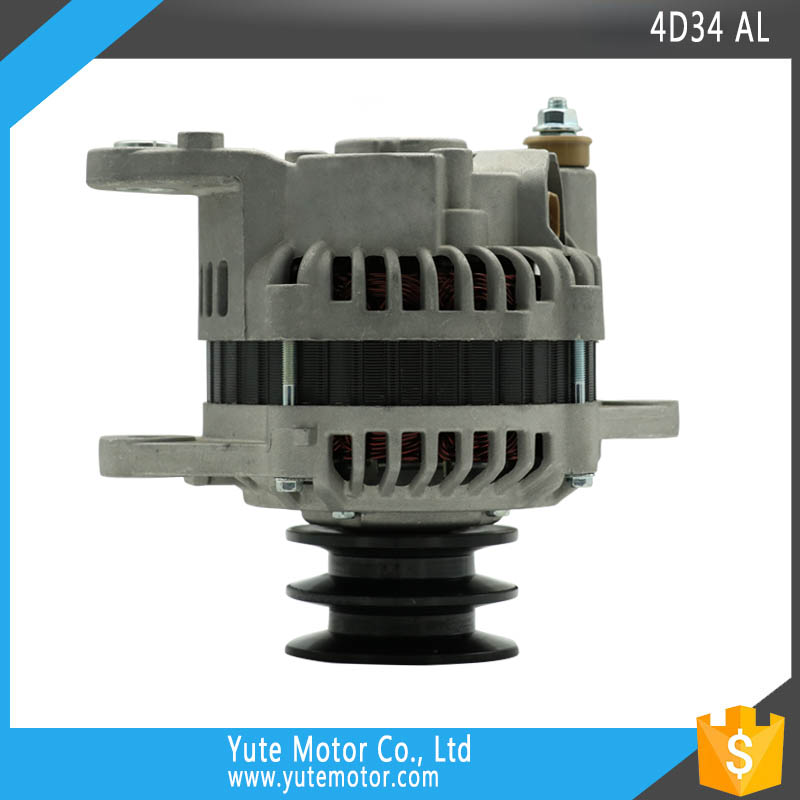 YTM 4D34 24 V 45A 2B pulley construction machinery alternator