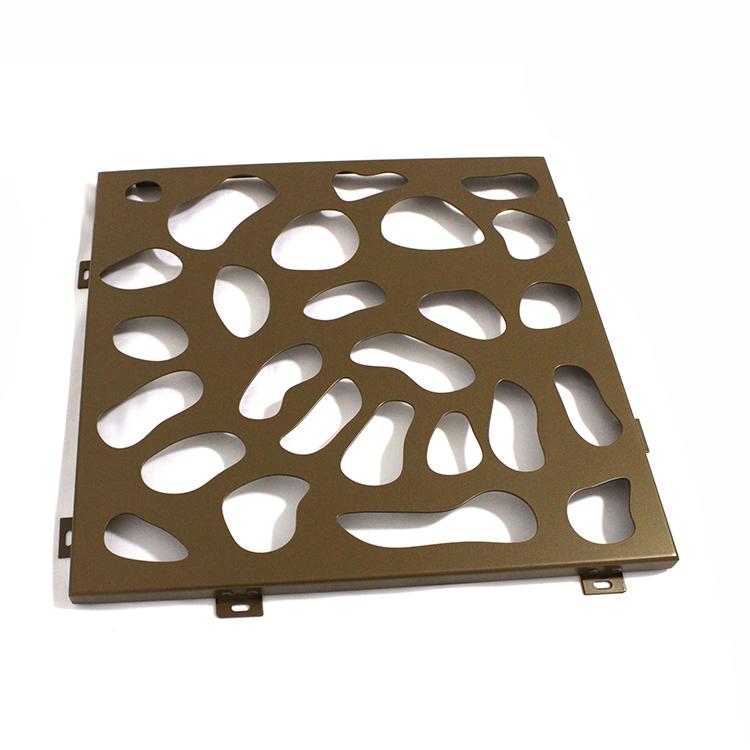 decorative aluminum perforated sheet manufacturer