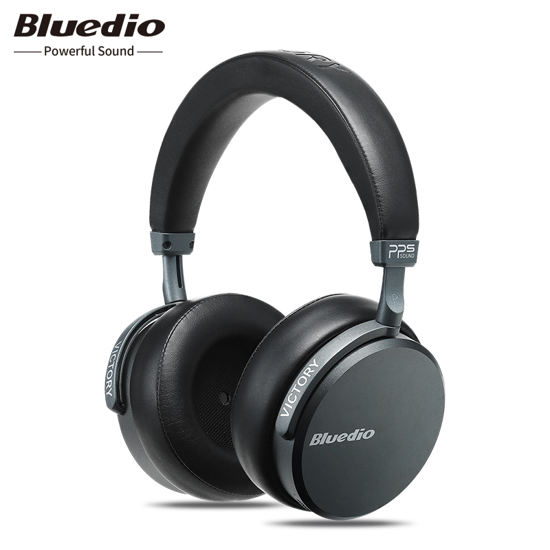 Bluedio V2 (Victory) Bluetooth Headphones Over Ear, PPS12 Drivers Wireless Headset with mic Hi-Fi De