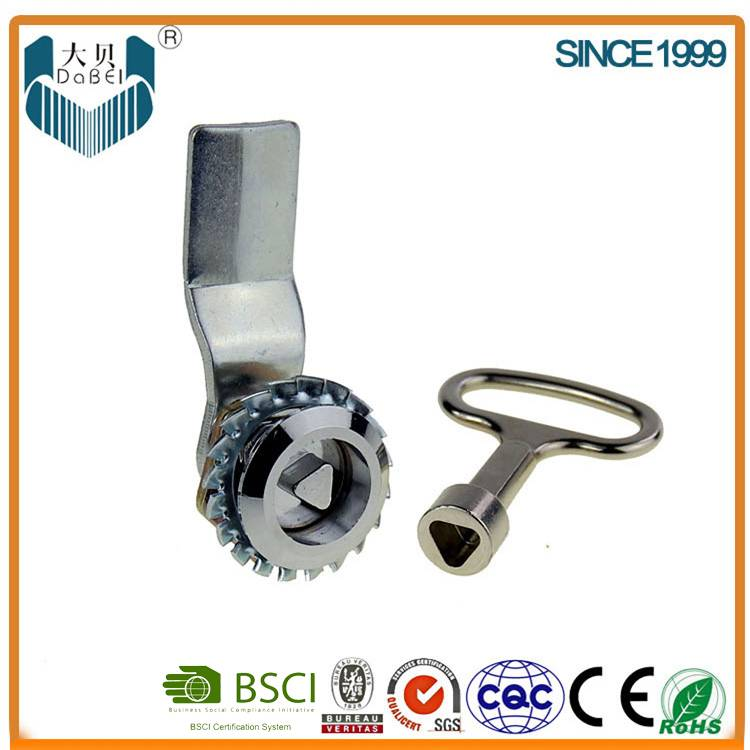 Zinc Alloy die-cast cylinder hardware assembly metal cabinet cam lock 104A