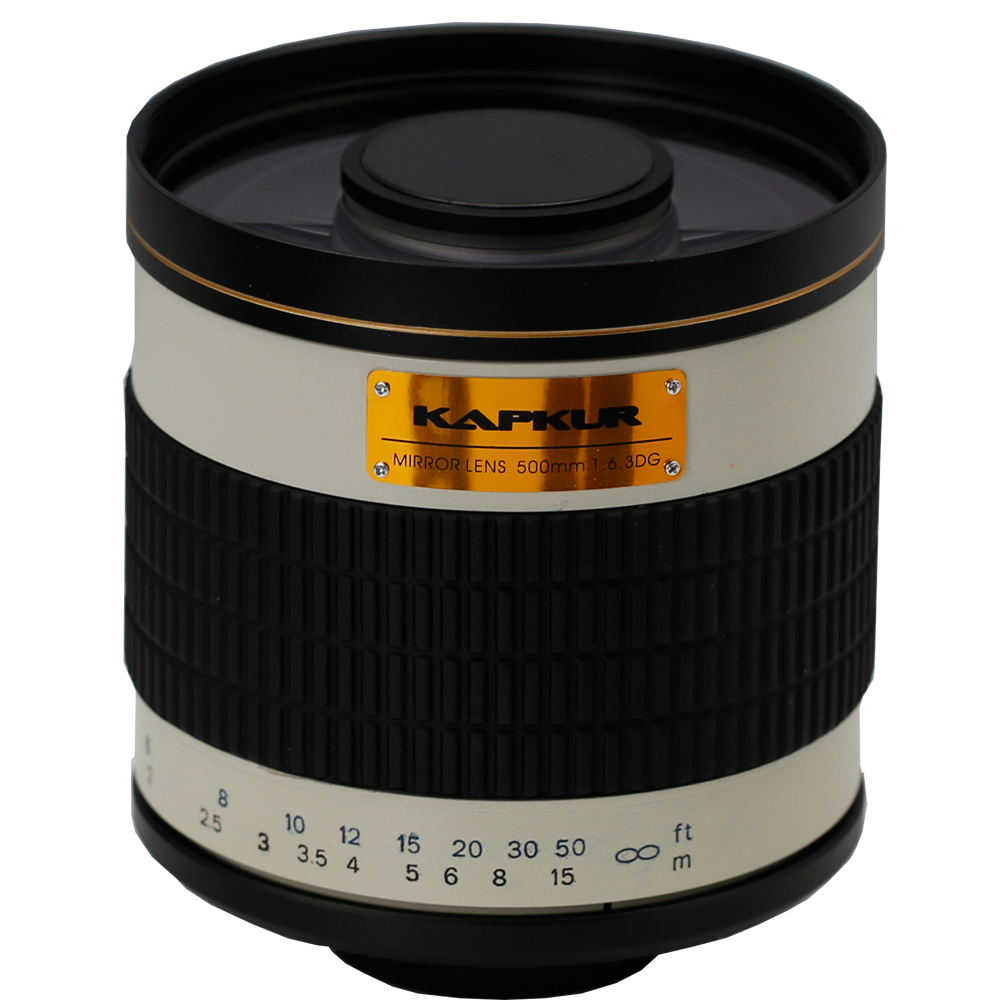 KAPKUR 500mm F6.3 Mirror Lenses for APS-C Style Digital SLR Cameras for Nikon