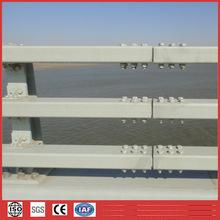 Supply High strength anti-crash steel beam shape bridge guardrail