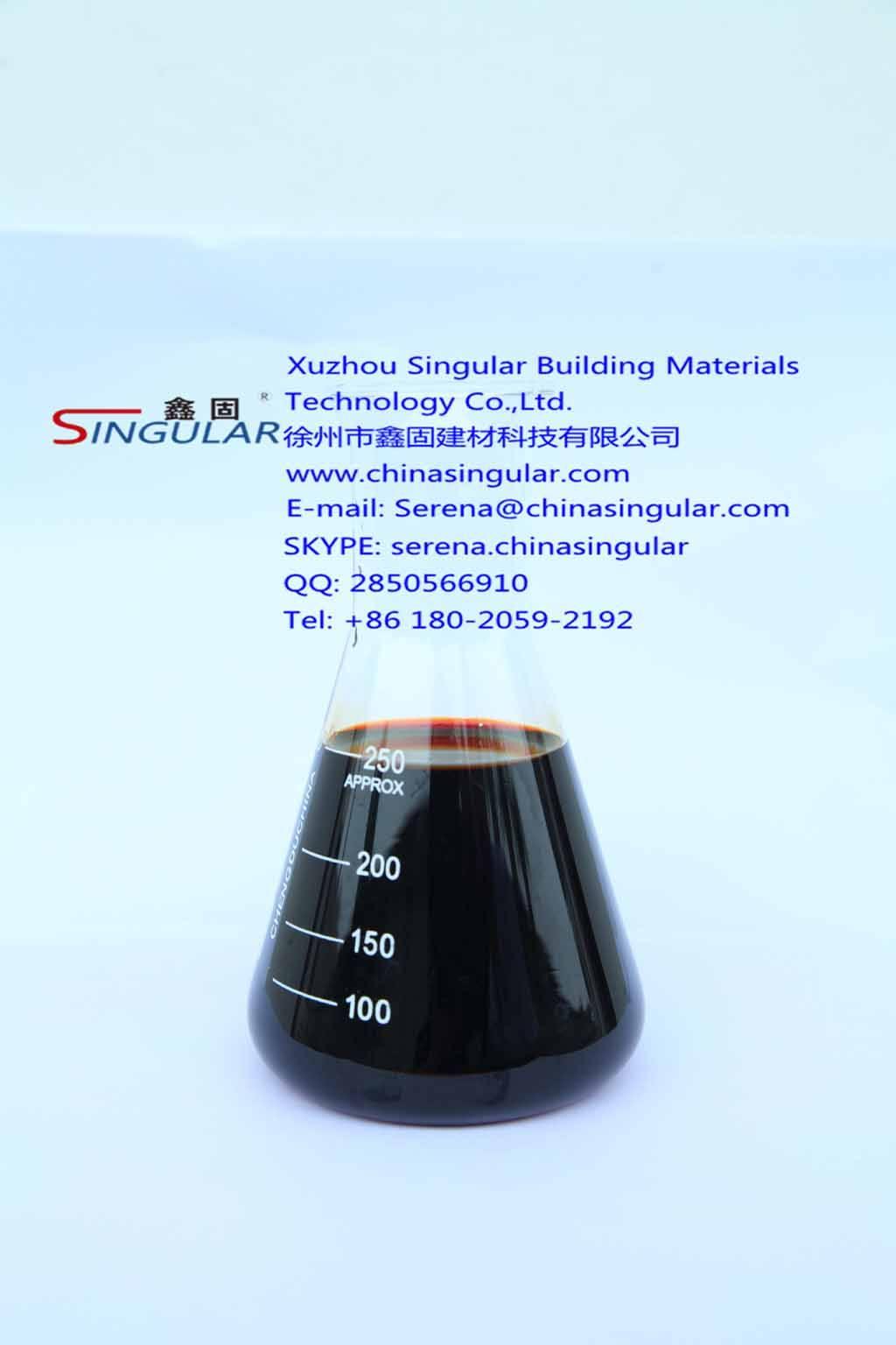 ZM-5B Concrete Hardening acceleratar/cement admixture- Singular manufacture