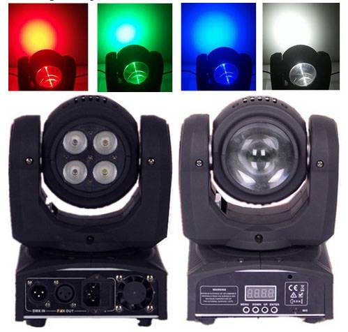Two-sided beam & wash Infinite mini led moving head light christmas dj lights
