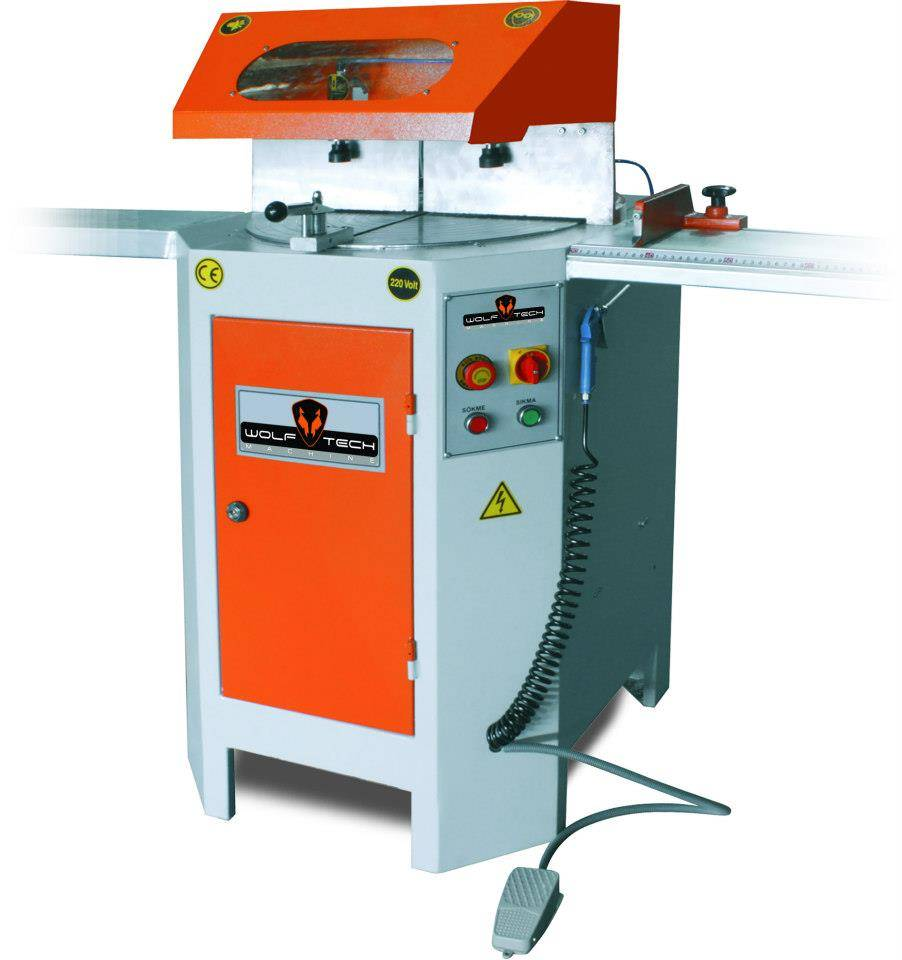 Automatic Cutting-Off Machine With Rising Blade / 400 mm.