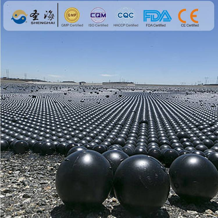 China factory supply 100mm plastic hollow ball for Ammonia reduction