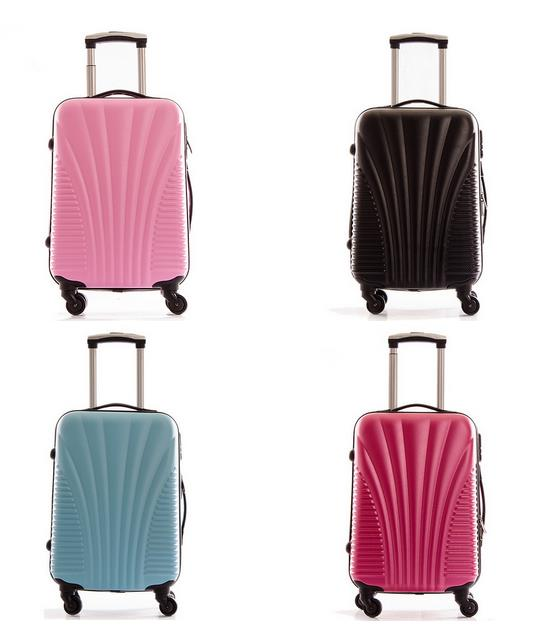 Cheap Hard Shell Suitcase Luggage with Lightweight Trolley