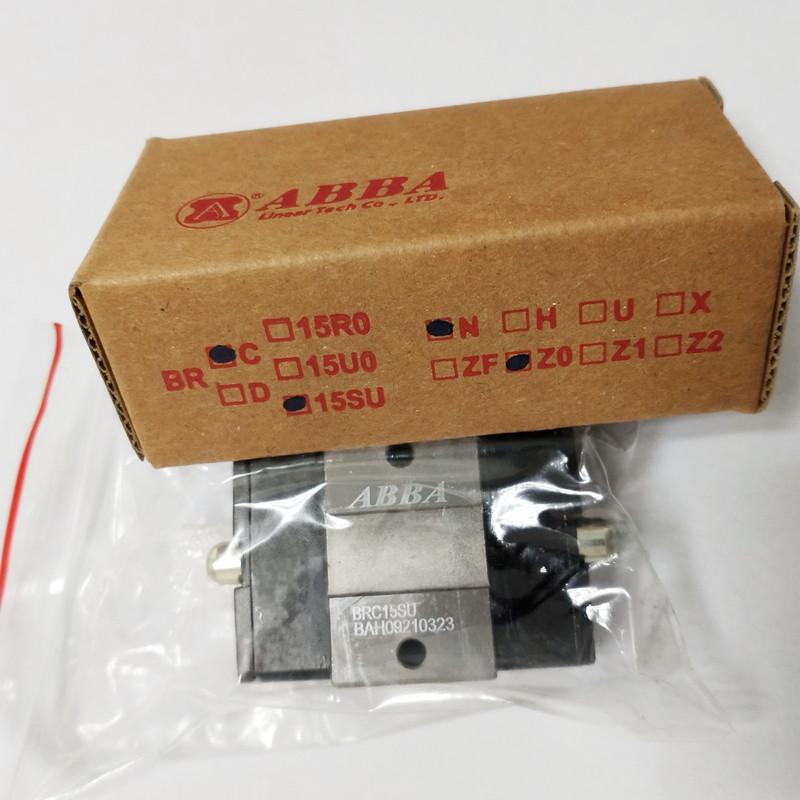 CNC Machine ABBA Linear Guide Slide Block BRC15SU