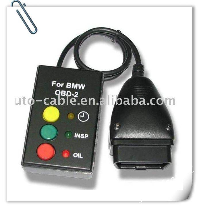 OBD2 OBDII Oil Service Inspection Reset Tool For BMW E46 E39 X5 Z4 mini Rover 75 E3143