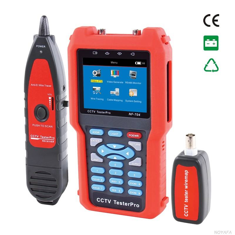 CCTV tester NF-704 & cable tester & wire tracker