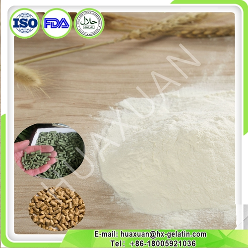 collagen/peptone for animal feed