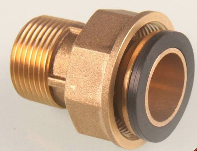 China supplier high quality brass gas meter connections fittings
