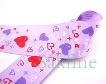 printed ribbon pakaging ribbon gift ribbon
