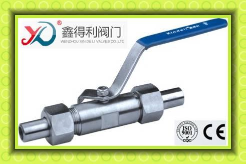 Q21F Q61F stainless steel welding ball valve