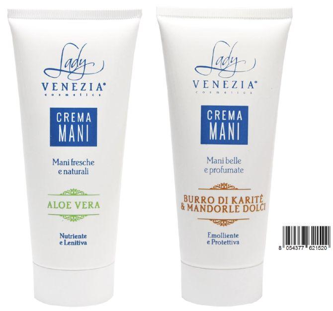 Brands of Italian cosmetics LADY VENEZIA