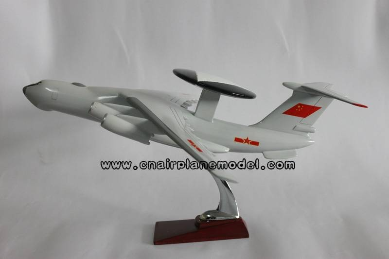 resin aircraft model KJ2000 40cm