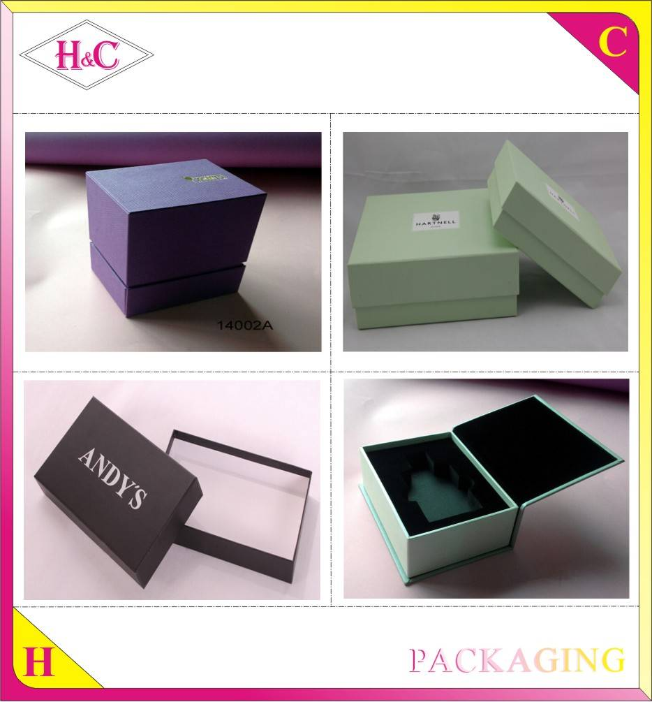 Wholesale Luxury Gift Watch Box With Hot Stamped