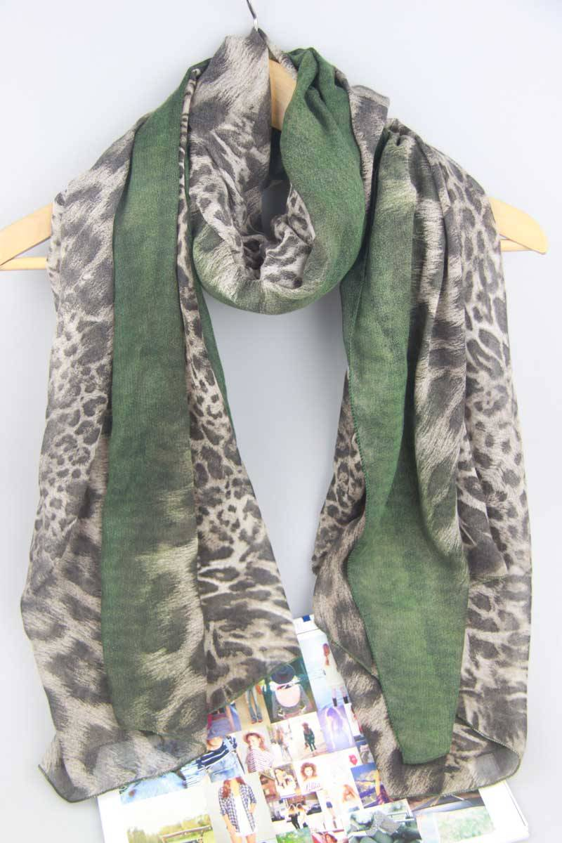 105×180cm Leopard Shawl Apparel Accessories Chinese Sourcing Agents