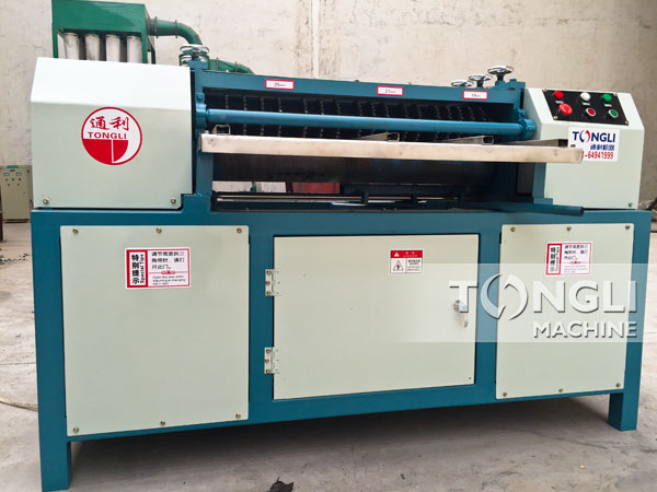Tongli copper and aluminum water tank radiator recycling machine