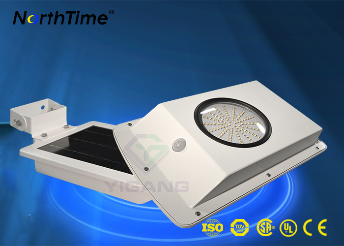 6W all in one solar street light with motion sensor