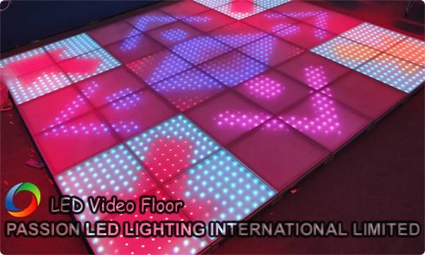 Full Color LED Disco Floor - LED Video Floor