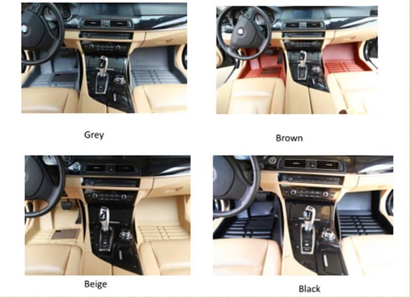 High quality full set rubber car mat car foot mat for BMW,BENZ,NISSAN,AUDI,TOYOTA .HONDA