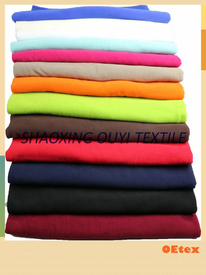 100% polyester knitted polar fleece fabric