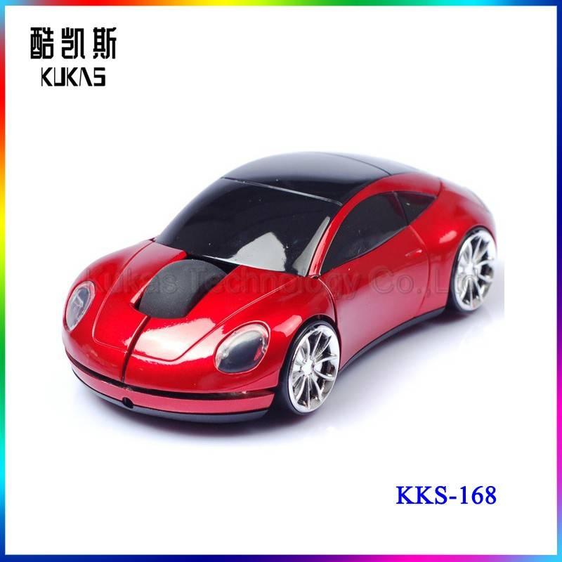 3D Car Mouse Design 2.4Ghz Car Shape Wireless Optical Mouse