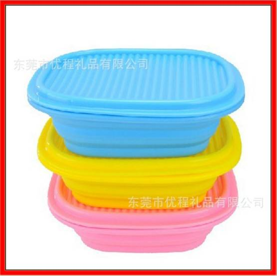 Hot sell Silicone Foldable Bowl/ Silicone Travel Bowl / Silicone Collapsible/ Portable Bowl/Silicone