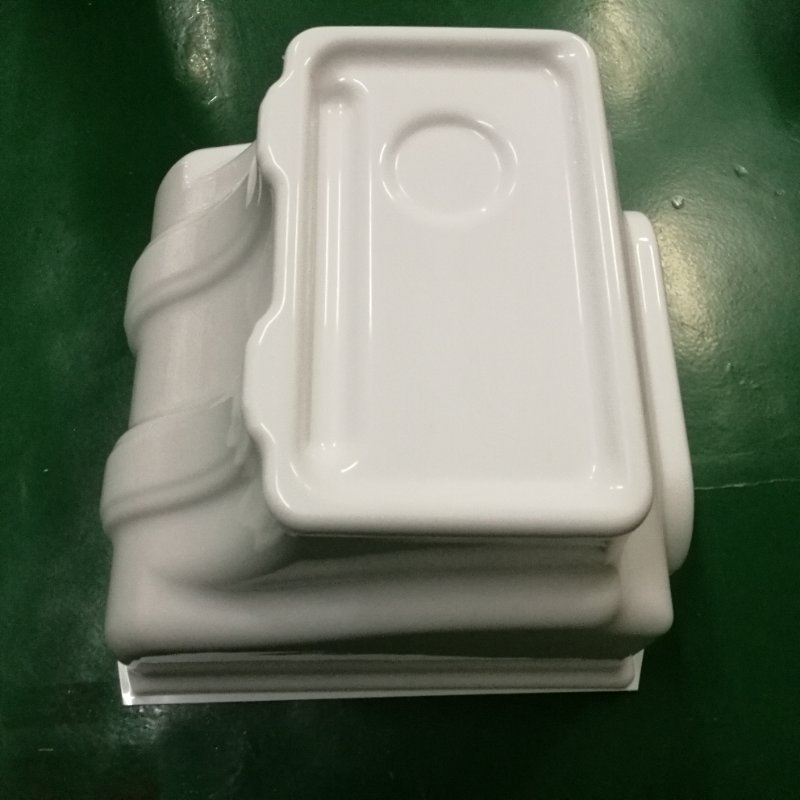 China Factory Custom Made Thermoforming/Vacuum Formed HDPE Plastic Tubs