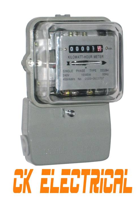 Single Phase Power Kwh Meter DD284
