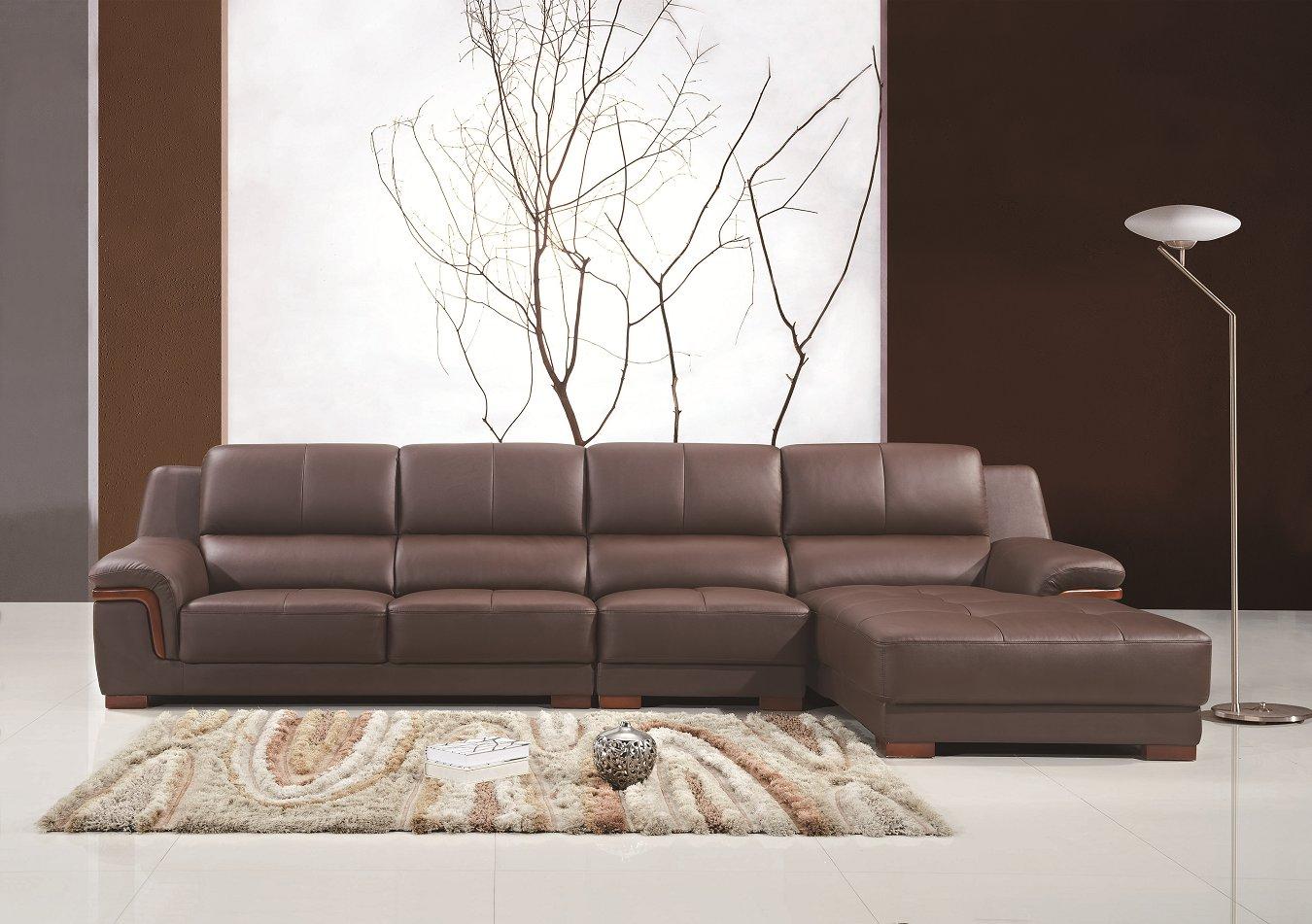 2017 Modern Living Room PU Leather Sofa for Home