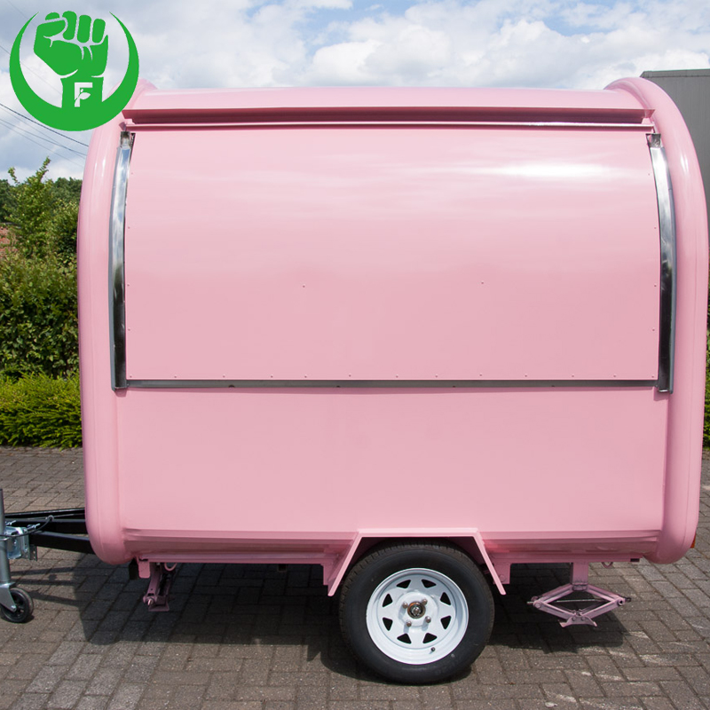 Customized Multifunctional Food Cart Vendor with Factory Price