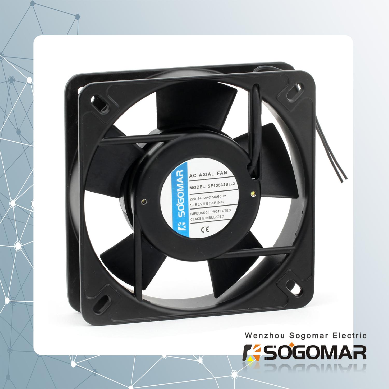 axial fan/ ventilation 135x135x32mm with plastic blades