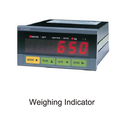 weighing indicator of mixing plant