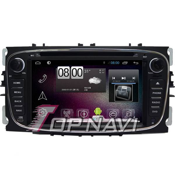 "800*480 7"" Android 4.4 Car GPS Player Video For Ford Focus 2008-2011 Navigation"