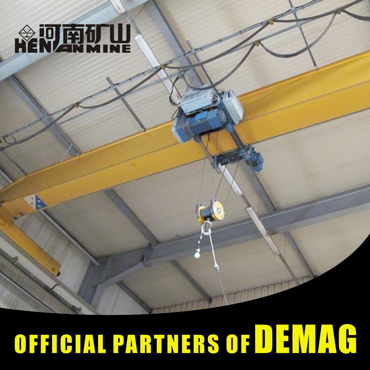 10Ton Semi-Portal Remote Radio Control Eot Crane Of Europe Style Design
