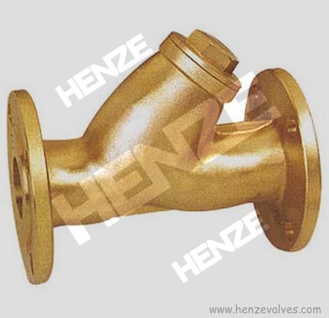 Brass Threaded Y Strainer